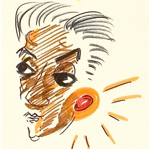 Federico Fellini: ma che orrendo doodle di Google per l'anniversario della sua nascita !!!
