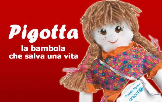 Fra Albenzio effervescente laboratorio di Pigotte per l' UNICEF