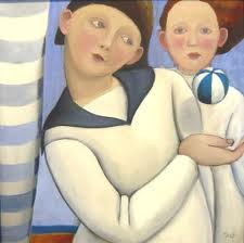 """""""L'altra metà della pittura"""" Roberta Correnti e Marta Czok."""