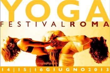 YogaFestival Roma 2013  a Villa Pamphilj