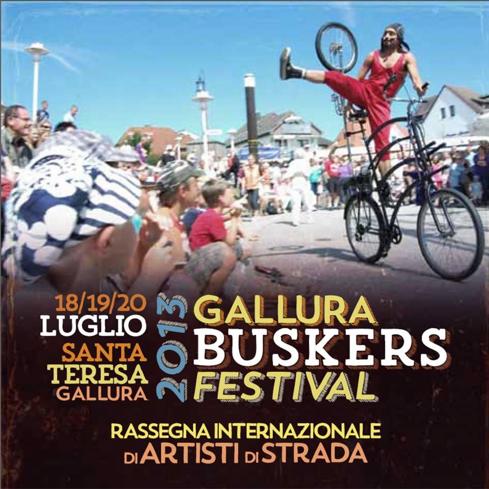 GALLURA BUSKERS FESTIVAL. ¡Q'Viva!