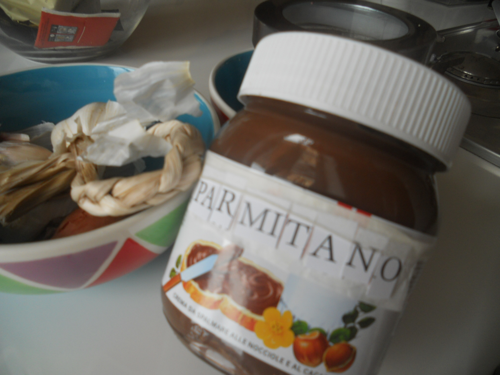Nutella Limited Edition for Luca Parmitano's Fans club!!