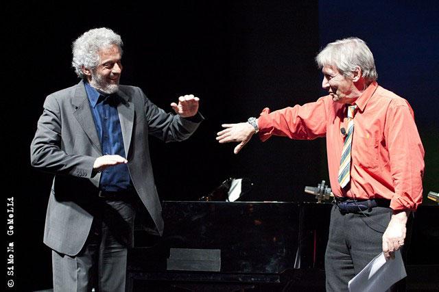 Armonie musicali e letterarie con Carlo Cecchi e Nicola Piovani.