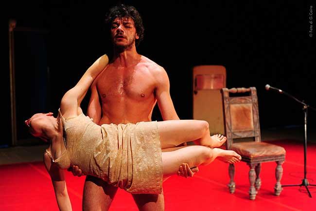 Tre voci per Lucrezia, violata a Il Vascello.