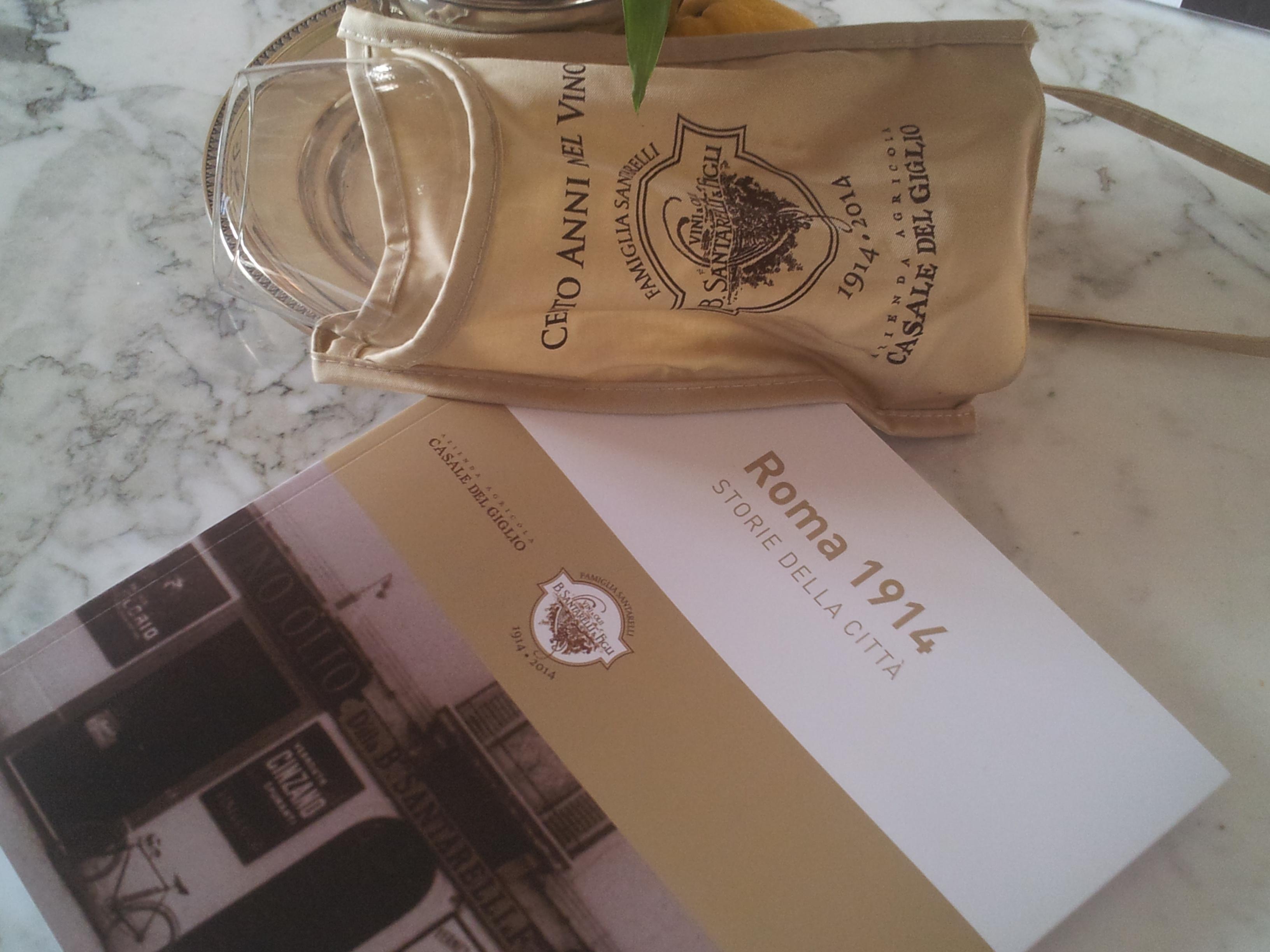 Santarellimania, in odor (di)vino. Roma 1914: Storie della città