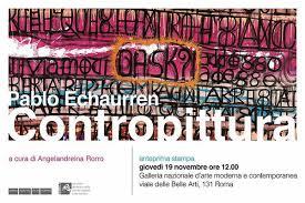 Contropittura di Pablo Echaurren alla GNAM, dai Quadretti ai quadri e oltre
