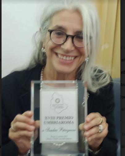 Sandra Petrignani, premio  UMBRIAROMA2021